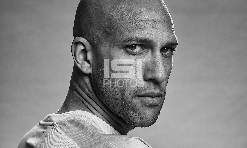 Tim Howard Portait, 2014 World Cup. (John Todd)