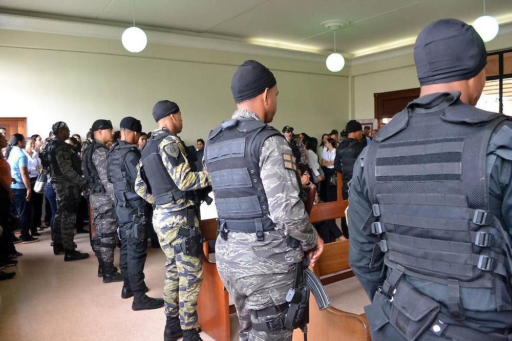 El juicio fue rodeado de estrictas medidas de seguridad.