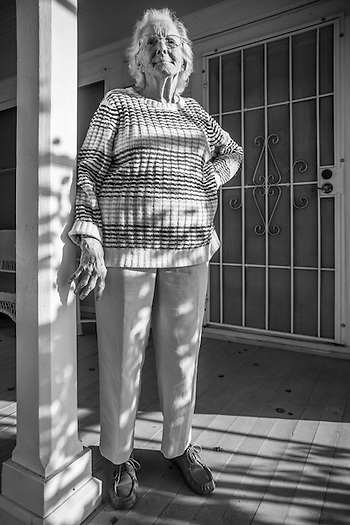 "Calistoga resident Audrey Lattemore turned 99 last month.  After a lifetime of rice farming near Sacramento, Audrey now lives in her older sister's house, a house left to her nephew, Robert Grahn, under the caveat that Audrey would be able to reside there as long as she lives. ""I don't think anyone thought I would live this long…longevity runs in my family, but not this much!"" Audrey is totally independent.  She gets around well, her hearing is perfect and she is as sharp as anyone half her age.  But, the most impressive fact about Audrey is that she is able to turn out 15 quilts each month for veteran hospitals.  She is proud of her quilts and the fact that she can still contribute at age 99.  rgrahn3@gmail.com  (Bob) (Clark James Mishler)"