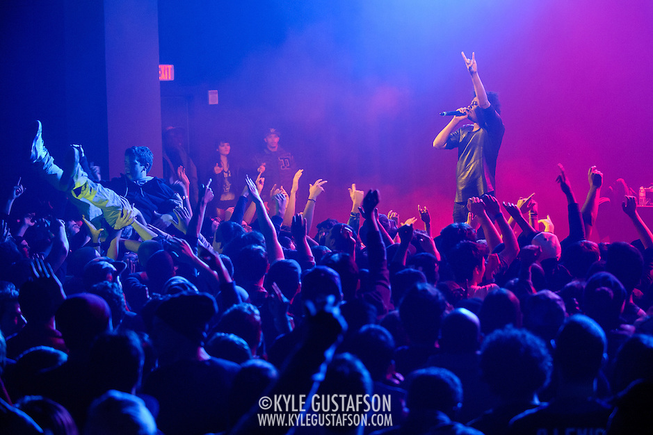 WASHINGTON, DC - November 24, 2013 - Rapper Danny Brown performs at the Howard Theatre in Washington, D.C. Brown released his third studio album, Old, in October. (Photo by Kyle Gustafson / For The Washington Post) (Kyle Gustafson/For The Washington Post)