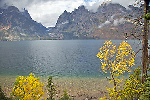 Jenny Lake, Grand Tetons, Fall Colors (© Daryl L. Hunter - The Hole Picture/Daryl L. Hunter)