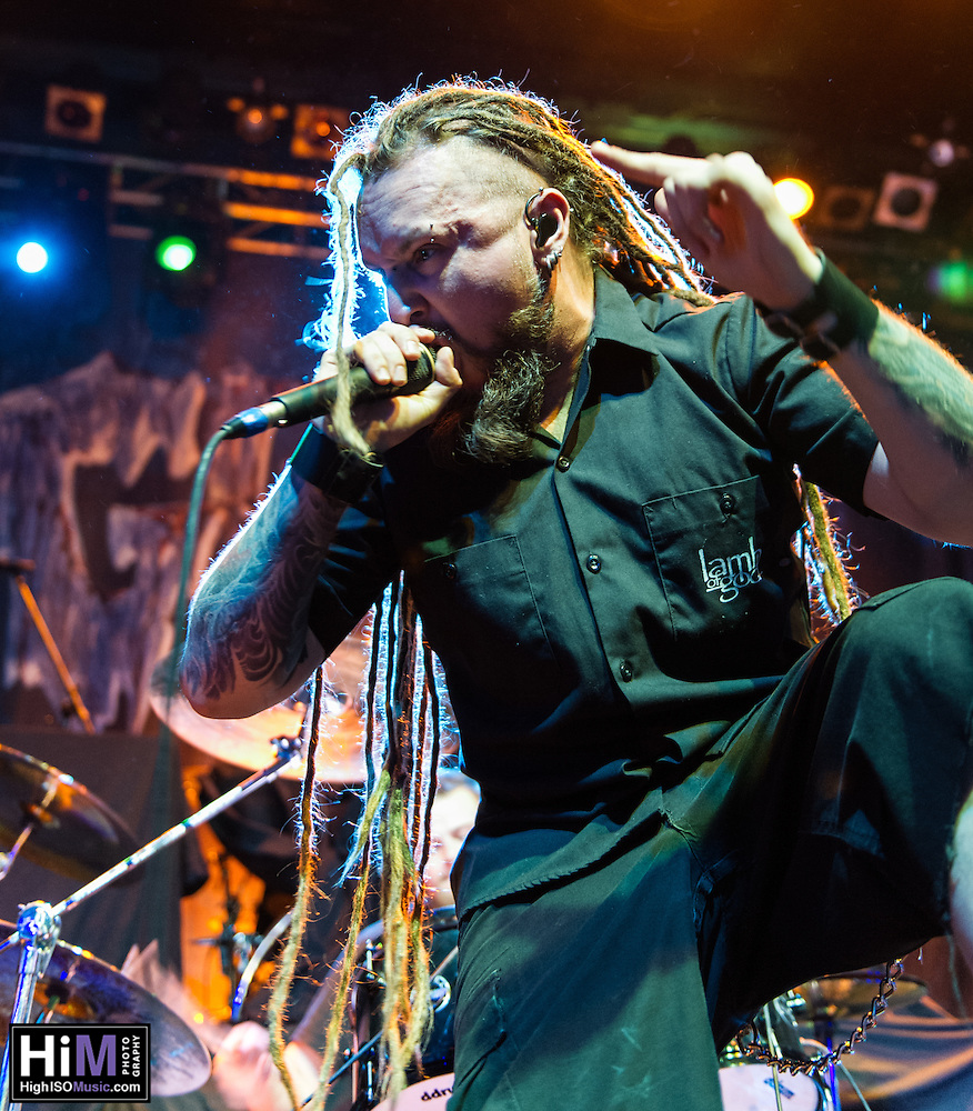 Decapitated opens for Gwar at the House of Blues in New Orleans, LA on October 24, 2014. (HIGH ISO Music, LLC)