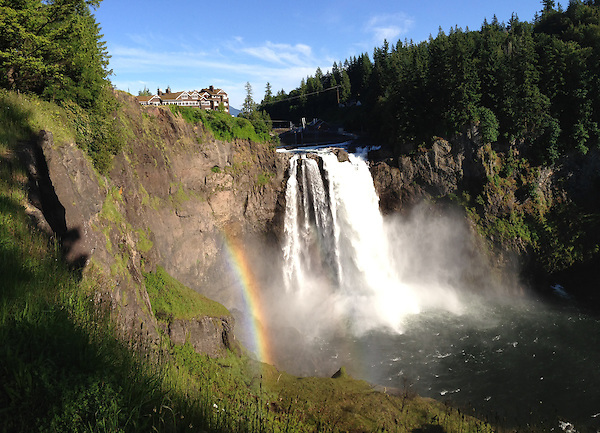 Snoqualmie Falls, Snoqualmie, Washington, US (Roddy Scheer)