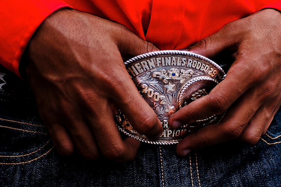 For 25 years the Bill Pickett Rodeo has traveled across the country telling the story of the African American cowboy. Since its inaugural event in Denver's Adam's County Arena back in 1984 the Bill Pickett Rodeo has introduced hundreds of thousands of youngsters to the African American rodeo experience. Named after the legendary Black rodeo pioneer, Bill Pickett was credited with creating the 'dogging' techniques used by today's cowboys. (Pete Marovich)