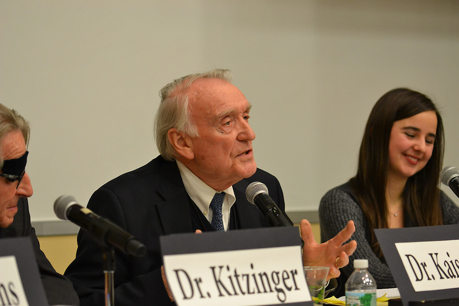 "2/19/16 – Medford, MA – Karl Kaiser speaks on ""The Future of Europe"" panel at the Institute for Global Leadership's 31st annual EPIIC International Symposium on ""Europe in Turmoil"" on Friday, Feb. 19, 2016. (Julia Press / The Tufts Daily) (Julia Press / The Tufts Daily)"