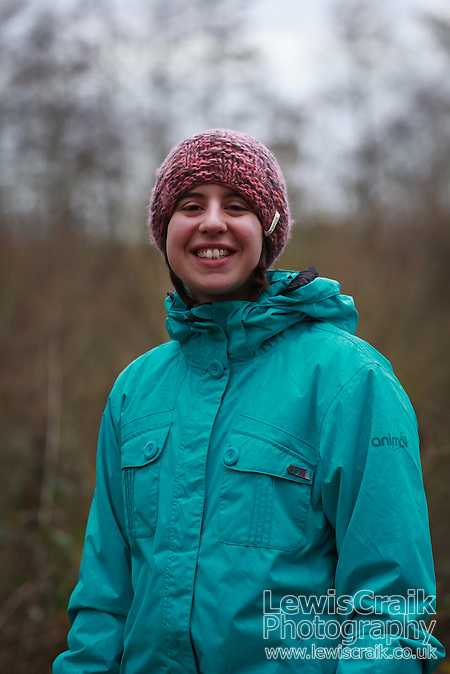 Jen at ryton Pools Country Park, Warwickshire, 1st January 2012 (Lewis Craik)