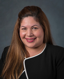 Mayra Ramon poses for a photograph, January 13, 2016. (Dave Einsel/Houston ISD)