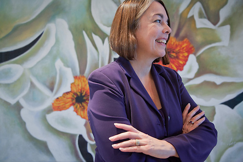 Cindy Baldwin of The Alaska Speakers Bureau (Clark James Mishler)