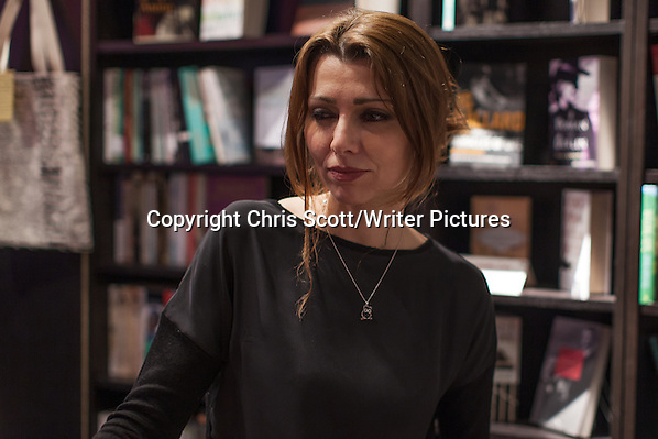 Elif Shafak, Istanbul Review at Looking Glass Books, Edinburgh. 25th March 2014 Photograph by Chris Scott/Writer Pictures WORLD RIGHTS (Must Credit: Chris Scott/Writer Pictures)