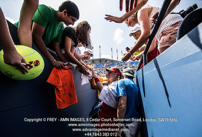 Angelique Kerber Tennis - US Open  - Grand Slam -  Flushing Meadows  2013 -  New York - USA - United States of America - Thursday 29th August 2013.  © AMN Images, 8 Cedar Court, Somerset Road, London, SW19 5HU Tel - +44 7843383012 mfrey@advantagemedianet.com www.amnimages.photoshelter.com www.advantagemedianet.com www.tennishead.net (FREY - AMN IMAGES)