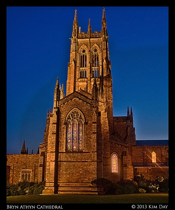 Cathedral Blue Hour Bryn Athyn Cathedral June 2013 (Kim Day)