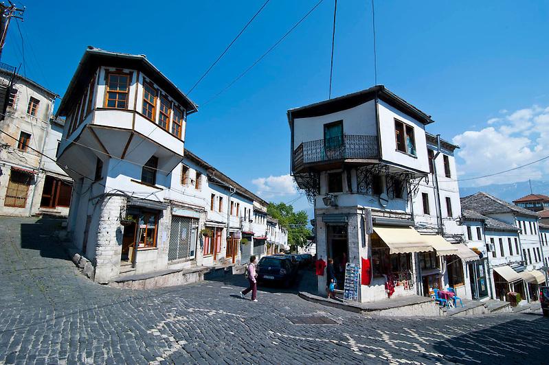 Unesco Weltkulturerbe Gjirokaster, Albanien,Balkan*Unesco world heritage sight Gjirokaster, Albania,Balkan (Michael Runkel)