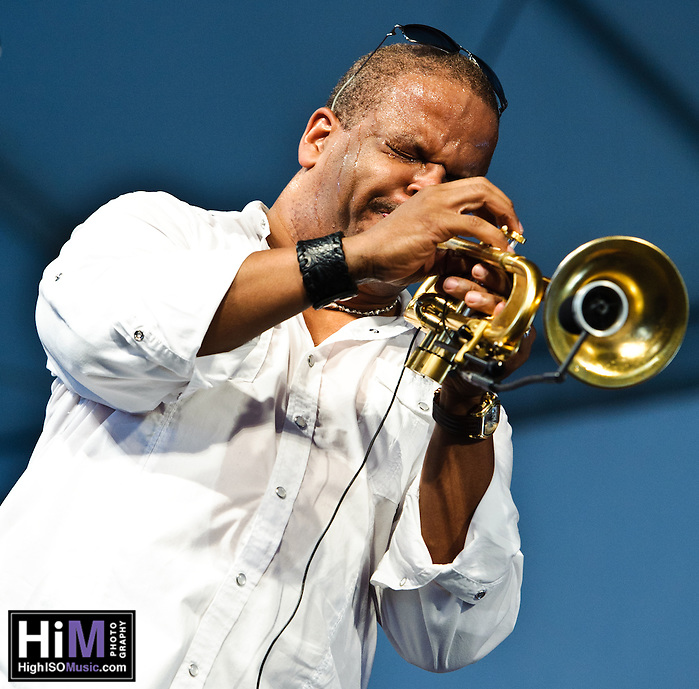 Terence Blanchard's Set at Jazz Fest 2011 in New Orleans, LA on day 3. (Golden G. Richard III)