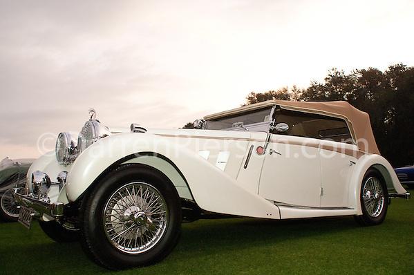 PC 172 1936 MG SA 2 1/2 Litre Open Tourer: Judy & Barry Alexander (Darren Pierson)