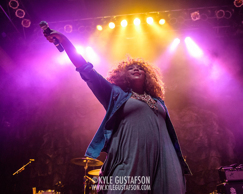 WASHINGTON, D.C. - February 24, 2015 - Lizzo opens for Sleater-Kinney at the 9:30 Club in Washington, D.C. (Photo by Kyle Gustafson) (Kyle Gustafson/For The Washington Post)
