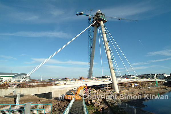 Southport Marine Way Bridge Construction Progress Photography