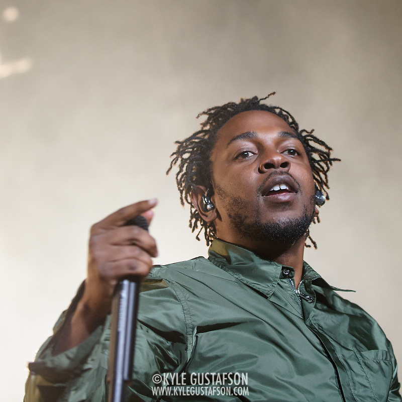 COLUMBIA, MD - May 30, 2015 - Kendrick Lamar performs at the 2015 Sweetlife Festival at Merriweather Post Pavilion in Columbia, MD. Lamar's sophomore album, released in March, debuted atop the U.S. Billboard 200 album chart. (Photo by Kyle Gustafson / For The Washington Post) (Kyle Gustafson/For The Washington Post)