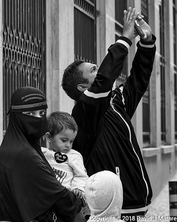 Snapshot from the Vanl. Afternoon Street Photography in Lisbon. Image taken with a Nikon 1V3 camera and 70-300 mm VR telephoto zoom lens. (DAVID J MATHRE)