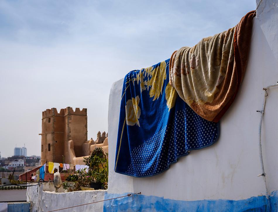RABAT, MOROCCO - CIRCA APRIL 2017: Kasbah Oudayas in Rabat (Daniel Korzeniewski)