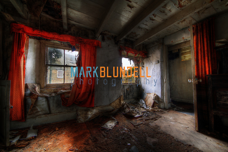 Images from an abandoned house on the Cornwall / Devon borders (Mark Blundell)