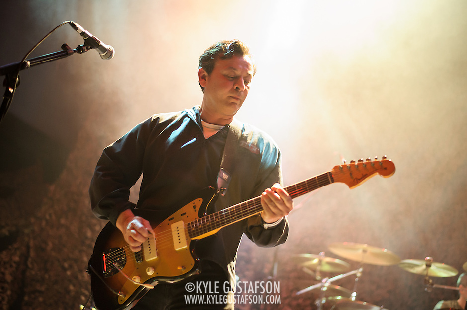 Washington, DC - April 20th, 2015 - The Manic Street Preachers open their Holy Bible 20 North American tour performing at the 9:30 Club in Washington, D.C. (Photo by Kyle Gustafson / www.kylegustafson.com) (Kyle Gustafson)