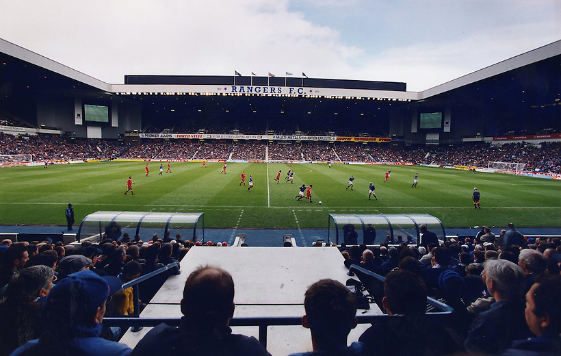 IBROX STADIUM INTERNAL VIEW SHOT DURING A RANGERS V ABERDEEN MATCH IN 1998, ROB CASEY PHOTOGRAPHY (ROB CASEY/ROB CASEY PHOTOGRAPHY)