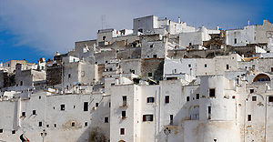 The white city of Ostuni, Puglia, South Italy. (Paul Williams)