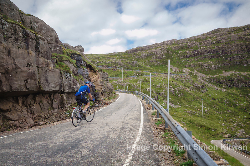 Cycling Bealach na Bà, Applecross Peninsula, Wester Ross, Scotland - Photo By Simon Kirwan