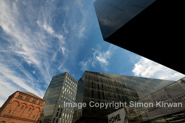 Mann Island Liverpool - architectural photography by Simon Kirwan
