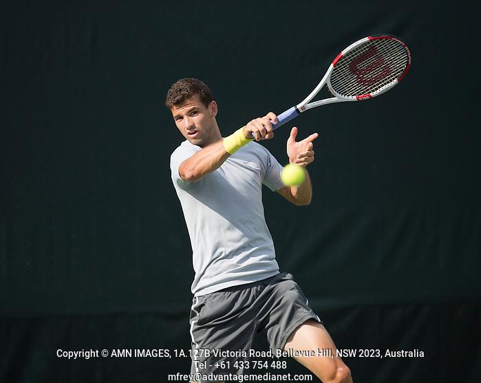 GRIGOR DIMITROV (BUL) Tennis - Sony Open - ATP-WTA -  Miami -  2014  - USA  -  17 March 2014.  © AMN IMAGES (FREY/FREY- AMN Images)
