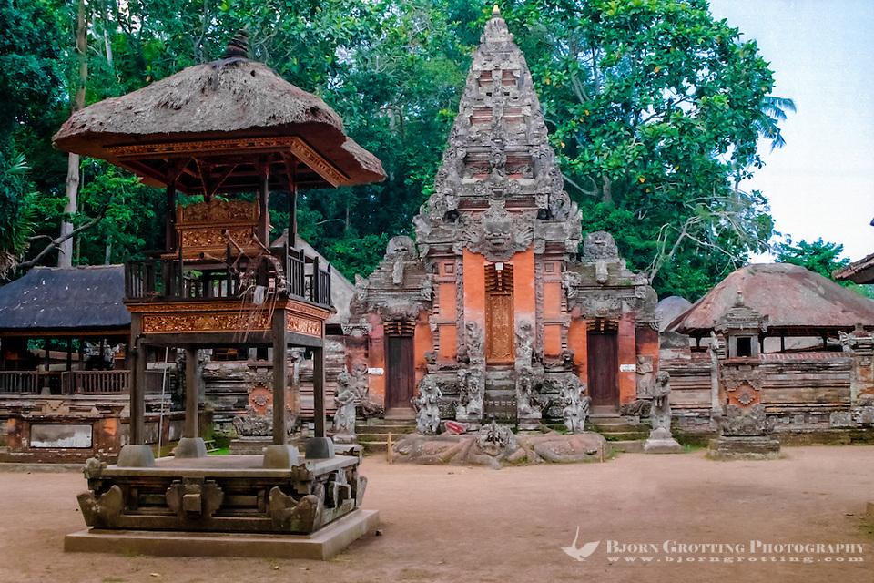Bali, Gianyar, Ubud. Pura Dalem Agung in the monkey forest. (Photo Bjorn Grotting)