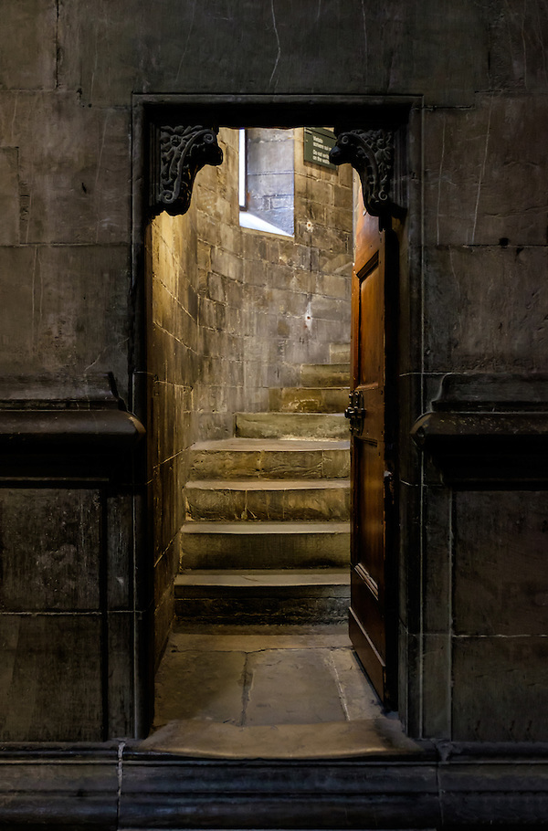 FLORENCE, ITALY - CIRCA MAY 2015: Interior door in the  Florence Cathedral,  Santa Maria del Fiore, known as The Duomo (Daniel Korzeniewski)