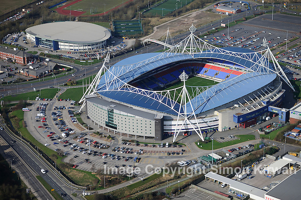 Reebok Stadium Aerial View. Photograph by Simon Kirwan