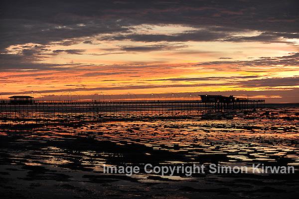 Southport Pier Sunset - Photo By Simon Kirwan