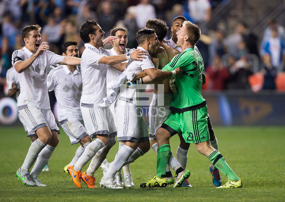 Chester, PA - September 30, 2015: Sporting Kansas City defeated the Philadelphia Union during the finals of the US Open Cup at PPL Park. (Brad Smith/isiphotos.com)