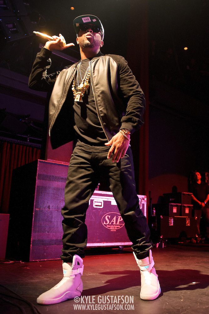 SILVER SPRING, MD - March 17th, 2012 - The-Dream performs at the Fillmore Silver Spring in Silver Spring, MD after a week of performances in Austin, TX at the annual SXSW music festival. The-Dream's fourth studio album is scheduled to be released later this year. (Photo by Kyle Gustafson/For The Washington Post) (Kyle Gustafson/FTWP)