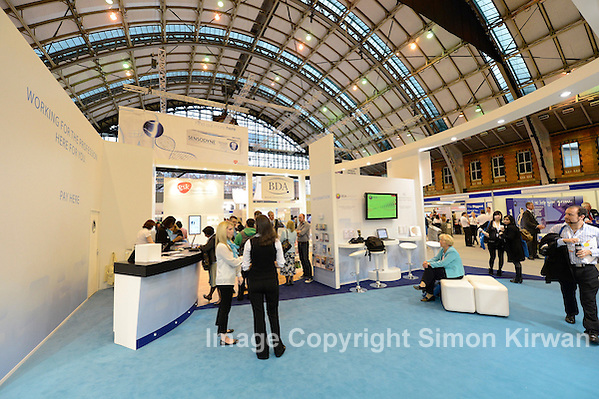 BDA stand, British Dental Conference & Exhibition 2012, MCCC. Photo by Simon Kirwan