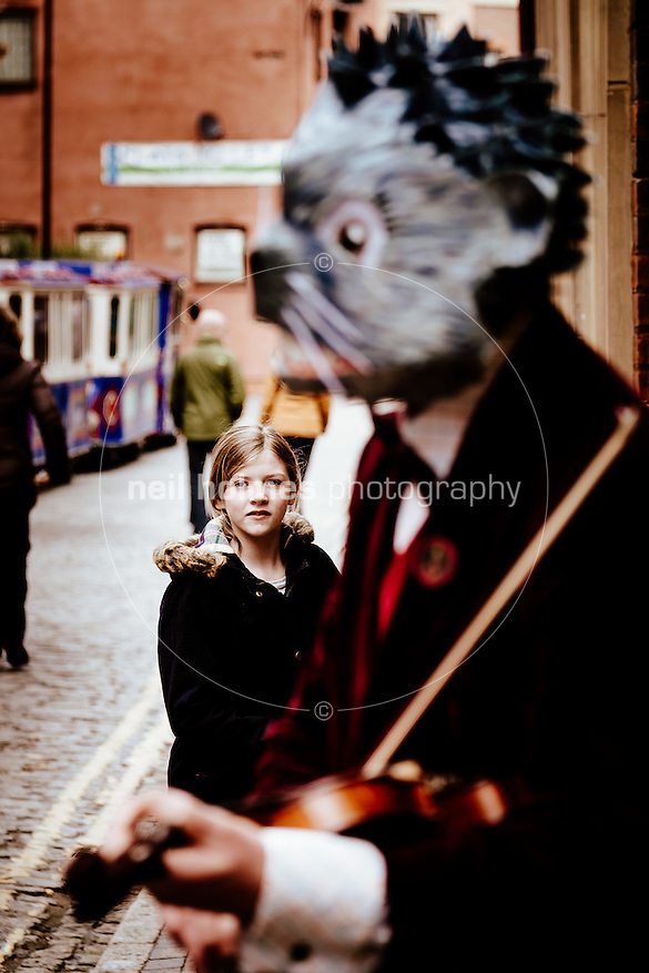 City Centre, Kingston Upon Hull, East Yorkshire, United Kingdom, 04 April, 2015. Pictured: Edwardian Easter event, Old Town (Neil Holmes)