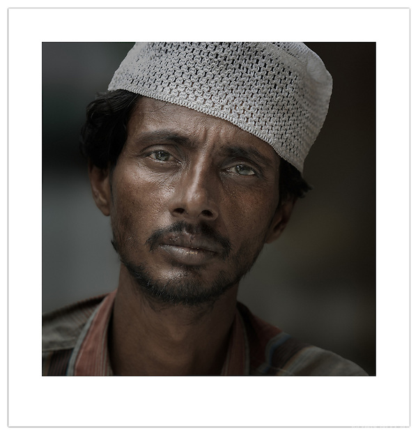 Street Portrait - Old Delhi, India, 2010 (Ian Mylam)