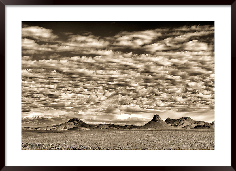 Mountains with cloudy sky, Morocco. (Rosa Frei)