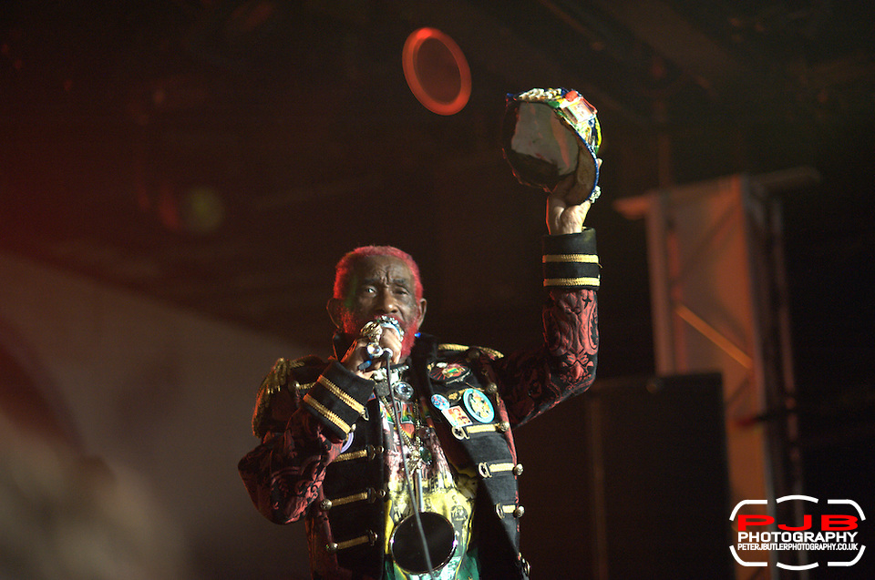 Lee Scratch Perry Performing @ ATP - 2011 - Curated by Animal Collective (Peter J Butler)