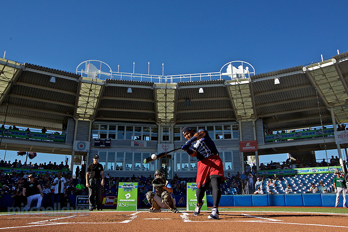 August 1, 2017; Hillsboro, OR, USA; All Star Game and Fan Fest. Photo: Craig Mitchelldyer-Hillsboro Hops (Craig Mitchelldyer, Craig Mitchelldyer/Hillsboro Hops)