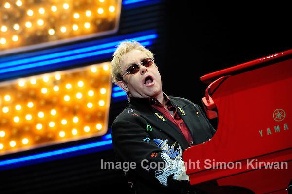 Elton John - Music Photography By Simon Kirwan