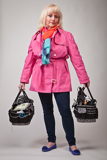 Janet Shafsky, make-up artist, Anchorage (Clark James Mishler)