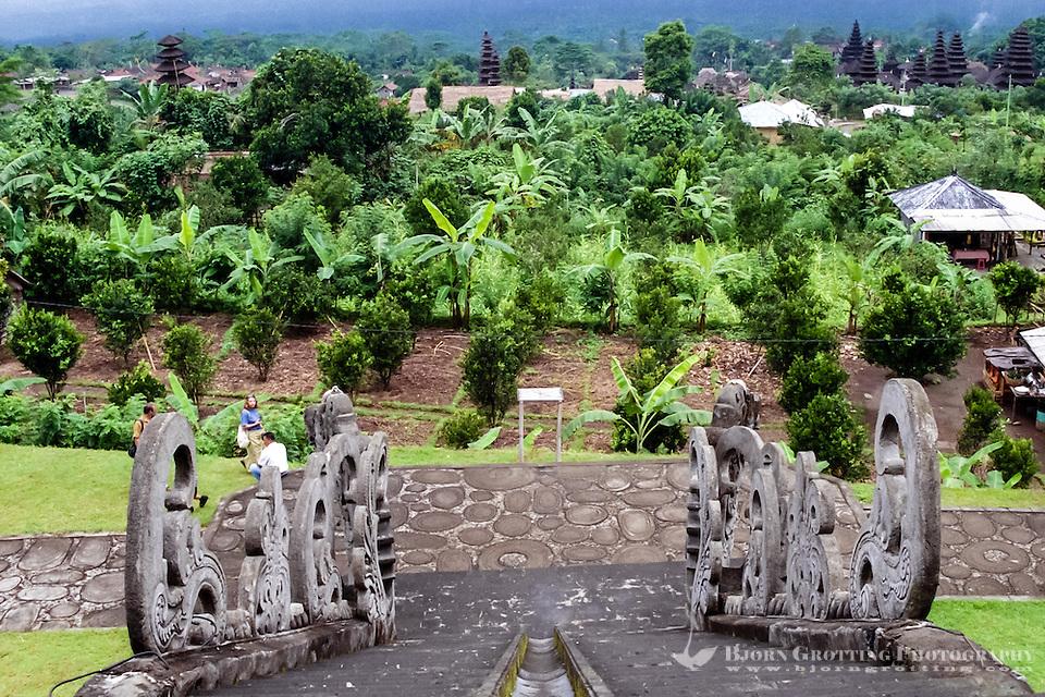 Bali, Karangasem, Besakih. The Mother Temple of Besakih, or Pura Besakih, on the slopes of Mount Agung. (Photo Bjorn Grotting)