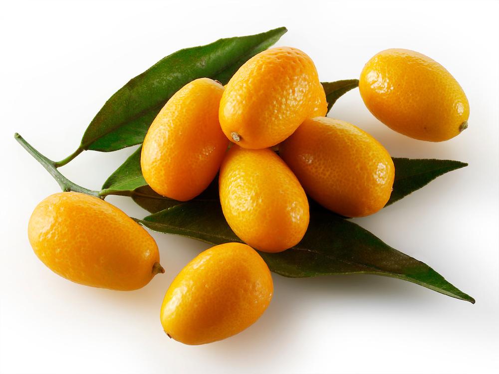 Fresh Kumquats citrus fruit (by food photographer Paul Williams. http://www.funkyfood.co.uk)