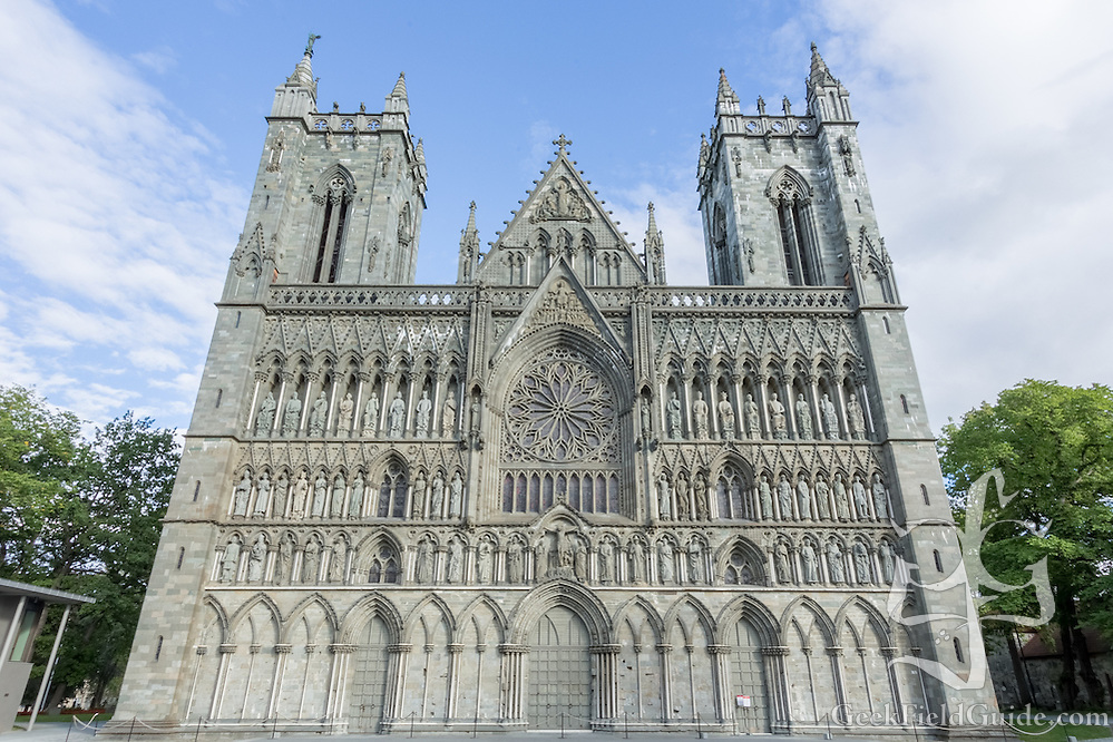 Nidaros Cathedral in Trondheim, Norway (Warren Schultz)
