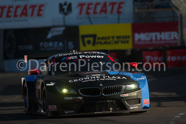 #55 BMW Team RLL BMW Z4 GTE: Bill Auberlen, Andy Priaulx (Darren Pierson)