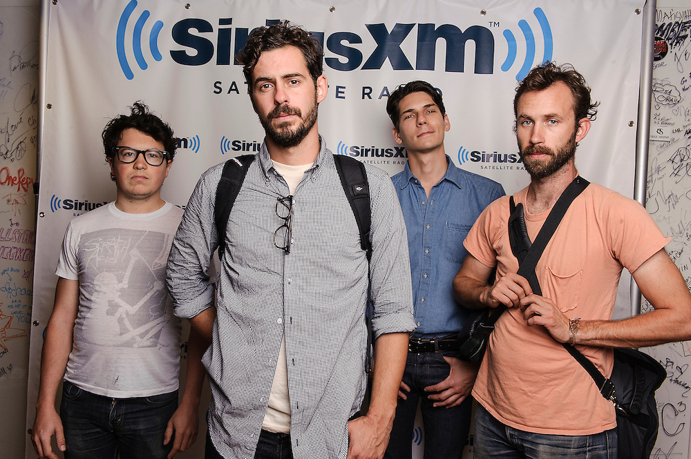 Portraits of the band White Denim at SiriusXM Studios, NYC. August 14, 2012. Copyright © 2012 Matthew Eisman. All Rights Reserved. (Photo by Matthew Eisman/ Getty Images)