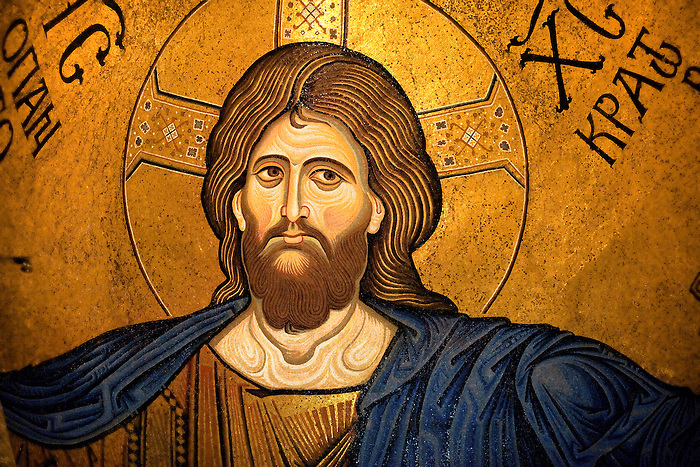 Byzantine mosaics of Jesus Christ in the Cathedral of Monreale - Palermo - Sicily (Paul Williams)